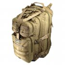 "19"" 2400cu.in. NexPak Tactical Hunting Camping Hiking Backpack ML118 TAN"