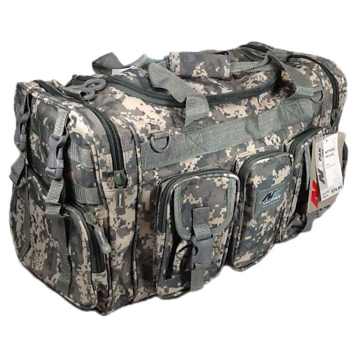 "22"" 2600 cu. in. NexPak Tactical Duffel Range Bag TF122 DM Digital Camouflage"