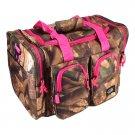 "15"" 1200 cu. in. NexPak Duffel Bag TT115 DCPK Digital Camouflage (Pink)"