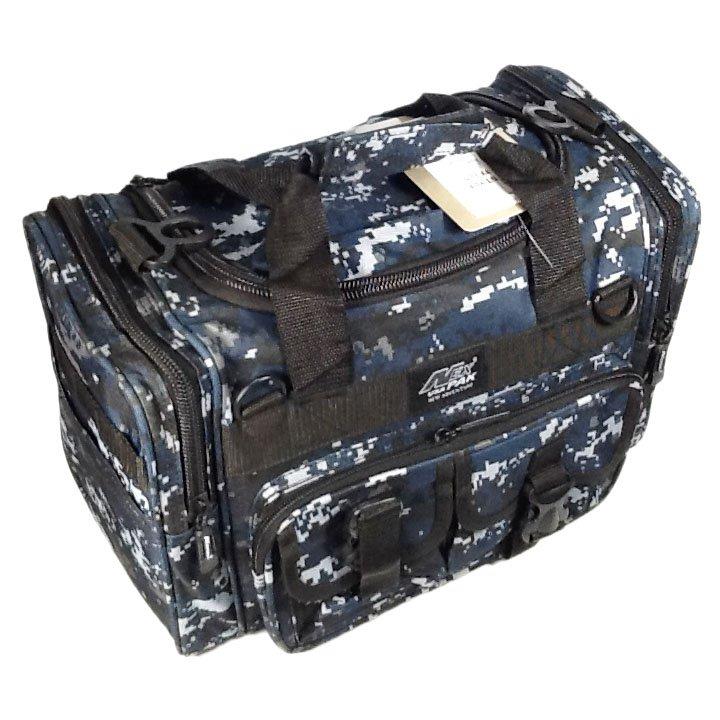 "15"" 1200cu.in. NexPak Tactical Duffel Range Bag TF115 DMBK (Navy Blue) Digi Camo"