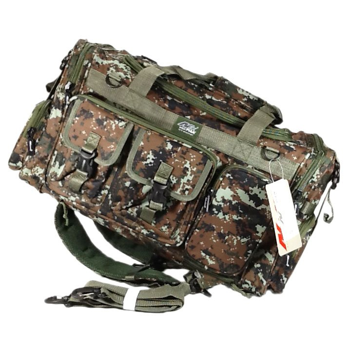 "26"" 3800 cu. in. TFBP126 DMBRN NexPak Tactical Duffel BACKPACK Digi Camo Brown"