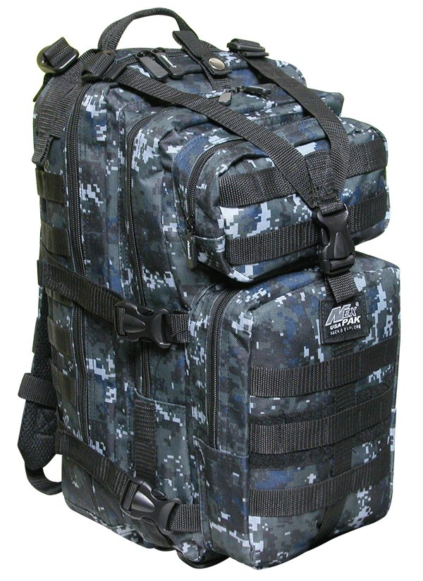 "19"" 2400cu.in. NexPak Tactical Hunting Camping Hiking Backpack ML118 DMBK CAMO"