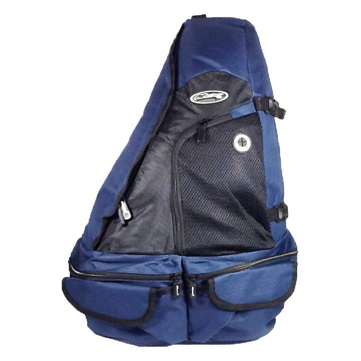 """21"""" 1700cu.in. NexPak Tactical Sling Shoulder Hiking Backpack BB002 NV Navy Blue"""