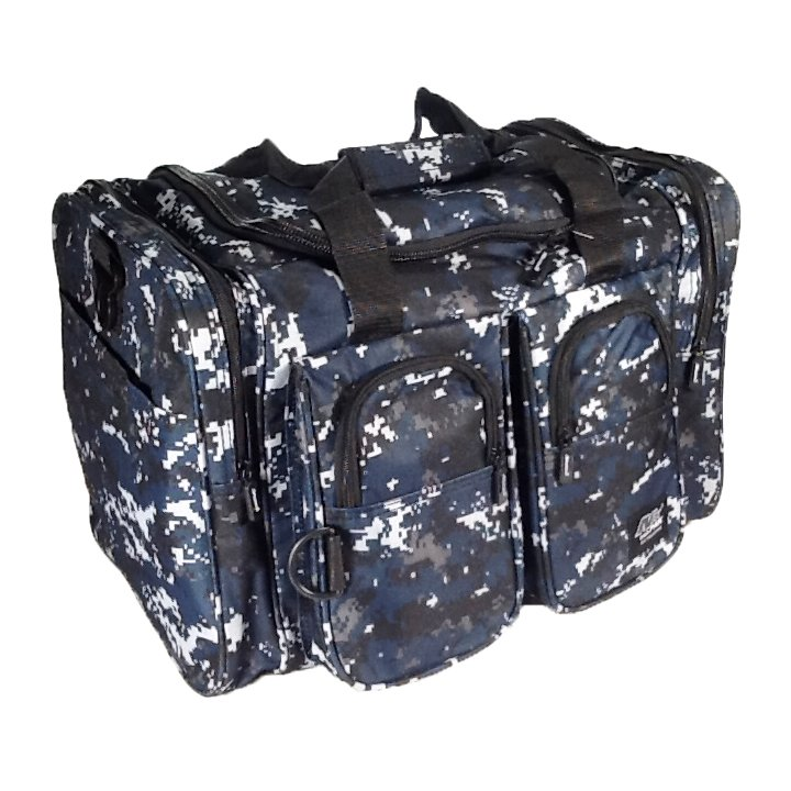 "15"" 1200 cu. in. NexPak Duffel Bag TT115 DMBK Digital Camouflage (Navy Blue)"