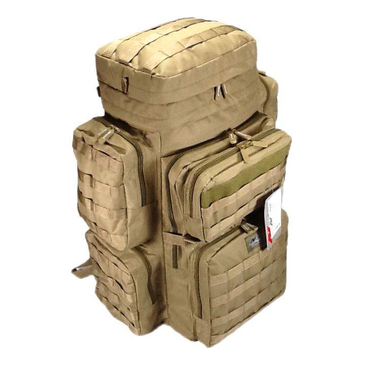 """30"""" 4500cu. in. NexPak Hunting Camping Hiking Backpack OP830 TAN"""