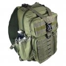 "18"" 1200cu.in. NexPak Tactical Sling Shoulder Hiking Backpack TL318 ODGN GREEN"