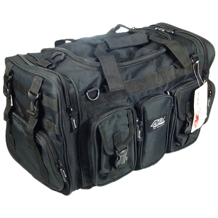 "22"" 2600 cu. in. NexPak Tactical Duffel Range Bag TF122 BK BLACK"