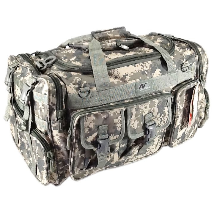 "26"" 3800 cu. in. NexPak Tactical Duffel Range Bag TF126 DM Digital Camouflage"