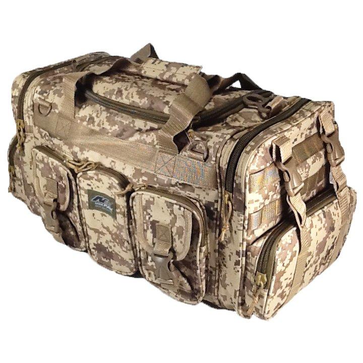 "22"" 2600 cu. in. NexPak Tactical Duffel Range Bag TF122 DMTAN Digi Camo (Tan)"