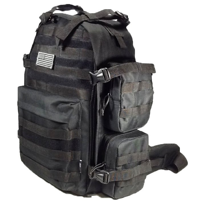 "19"" 2400 cu.in. NexPak Hunting Camping Hiking Backpack ML007 BK BLACK"