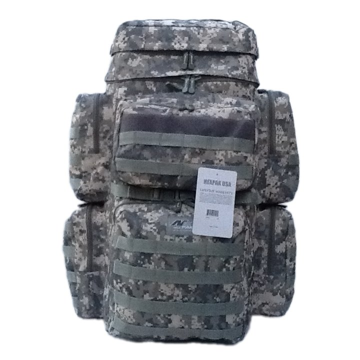 "30"" 4500cu. in. NexPak Hunting Camping Hiking Backpack OP830 DM DIGITAL CAMO"
