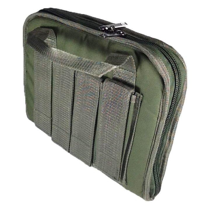 12 inch NexPak Soft Pistol Case SRB201ODGN Green