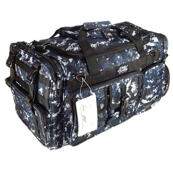 "26"" 3800cu.in. NexPak Tactical Duffel Range Bag TF126 DMBK (Navy Blue) Digi Camo"
