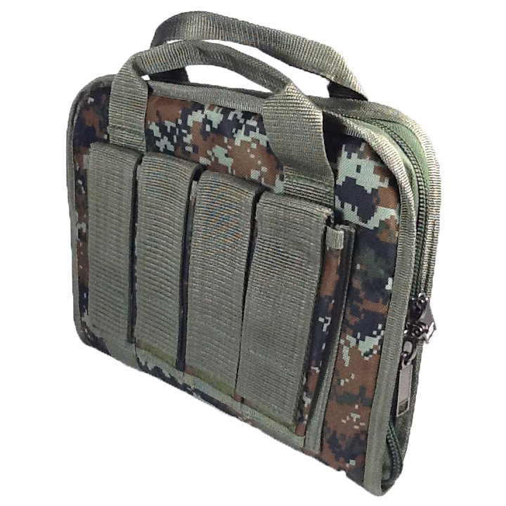 12 inch NexPak Soft Pistol Case SRB201DMBRN Digital Camouflage (Brown)