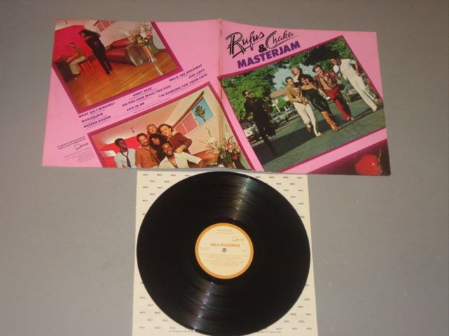 rufus & chaka masterjam mca lp 1979