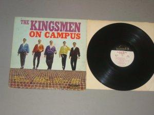 kingsmen on campus wdm670 wand lp 1965