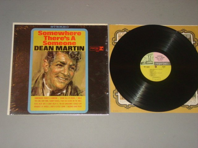 DEAN MARTIN-SOMEWHERE THERES A SOMEONE REPRISE LP 1966