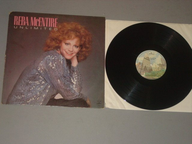 reba mcentire unlimited mercury lp 1982