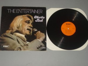 charlie rich the entertainer buckboard lp 1970s