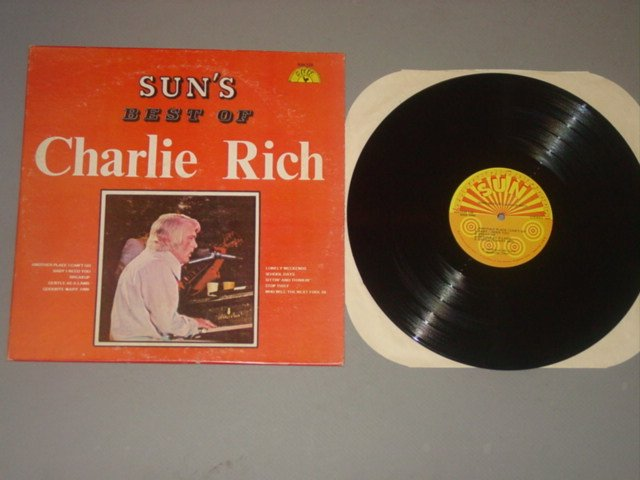charlie rich sun's best of charlie rich sun135 sun lp 1974