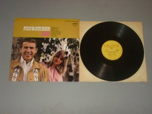 buck owens if you ain't lovin' hilltop lp record 1968