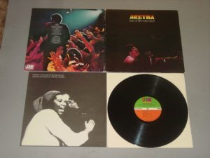 aretha franklin live at the fillmore west atlantic lp record 1971
