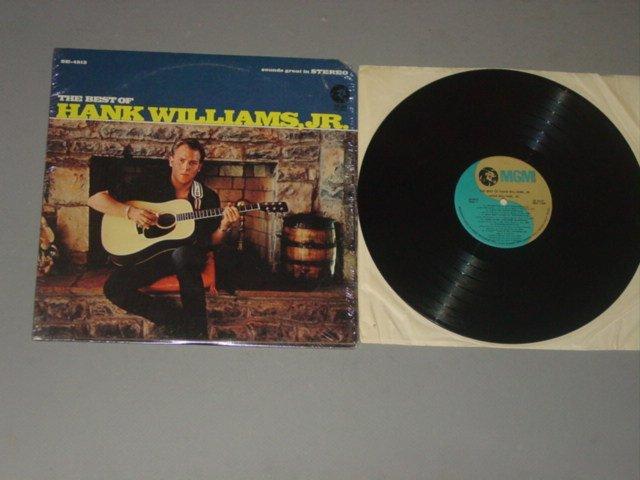 hank williams jr. best of hank williams jr. mgm lp 1967