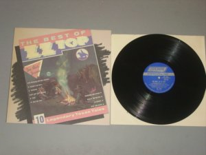 zz top the best of zz top london record lp. 1977