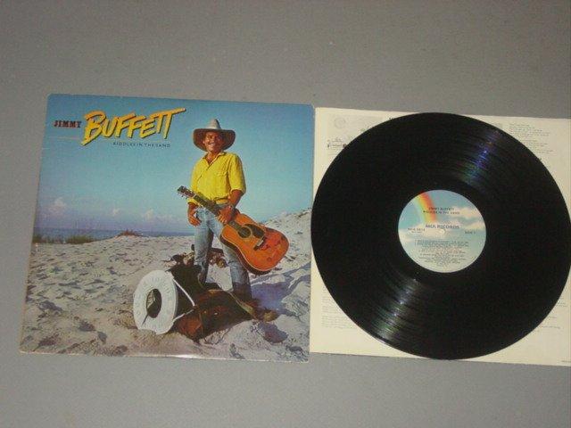 jimmy buffett riddles in the sand mca lp 1984