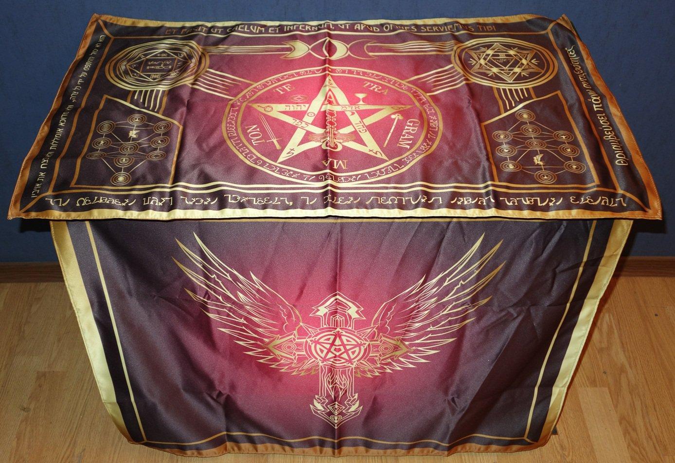 Altar of Ceremonial Magic or Classic Magic Altar Red