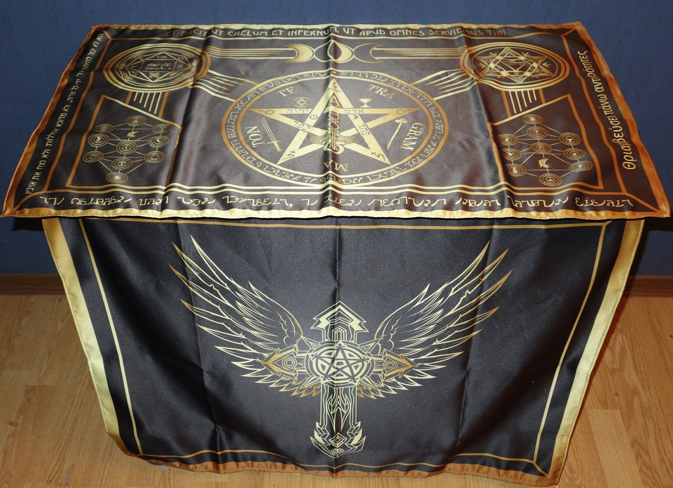 Altar of Ceremonial Magic or Classic Magic Altar Black