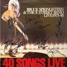 Bruce Springsteen Autographed Signed 40 Songs Live Poster