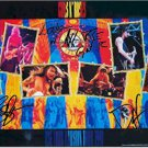 Guns N Roses Autographed Signed Illusion Poster