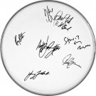 Bruce Springsteen & The E-Street Band Autographed Signed Clear Drumhead