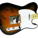 Nirvana Autographed Signed Fender Guitar Kurt Cobain David Grohl Krist