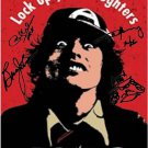 AC/DC Autographed Signed Lock Up Your Doubt Poster