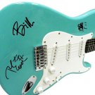 Green Day Autographed Signed Fender Guitar Billie Joe Armstrong ++
