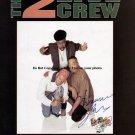 2 Live Crew Autographed Preprint Signed Photo