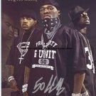 50 Cent G-UNIT Autographed Preprint Signed Photo