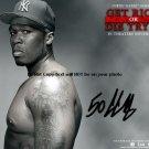 50 Cent Get Rich Autographed Preprint Signed Photo