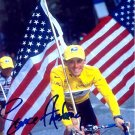 Lance Armstrong Autographed Preprint Signed Photo