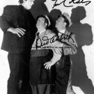 Bud Abbott & Lou Costello Autographed Preprint Signed Photo