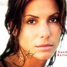 Sandra Bullock Autographed Preprint Signed Photo