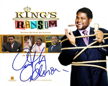 Anthony Anderson kings ramson Autographed Preprint Signed Photo