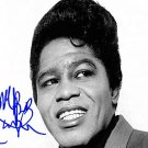 Brown james_brown Autographed Preprint Signed Photo