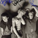 GreenDaybw Autographed Preprint Signed Photo