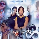 HOOBASTANK Autographed Preprint Signed Photo
