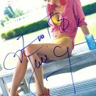 HerzigovaEva Autographed Preprint Signed Photo