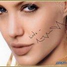 JolieAngelinaseductress Autographed Preprint Signed Photo