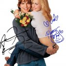KutcherMurphyjustmarried Autographed Preprint Signed Photo